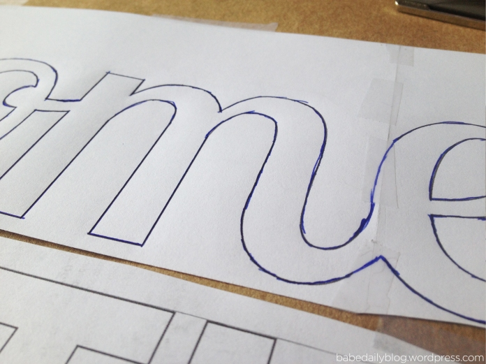 Close Up Photo of Tracing the Transfer