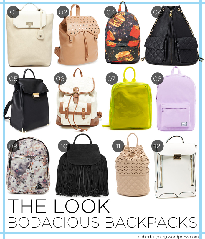 Image of Bodacious Backpacks