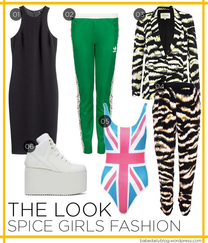 Image of Spice Girls Fashion
