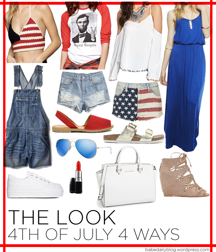Image of The Look | 4th of July