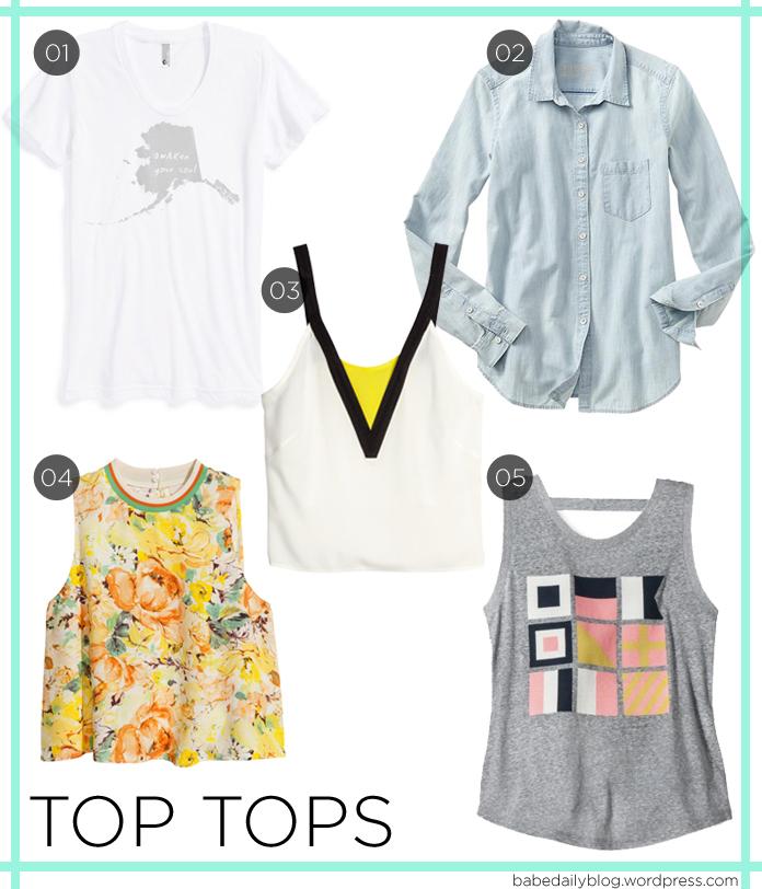 Image of Top Tops