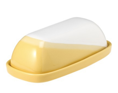 Threshold Ceramic Paint Dipped Butter Dish