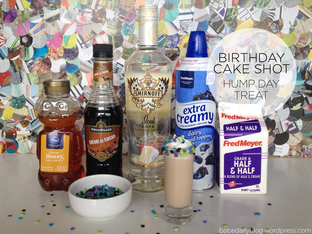 Birthday Cake Shot | HDT