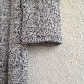Marled Knit Maxi Cardigan