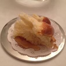 Challah w/ Honey at Rosh Hashanah Dinner