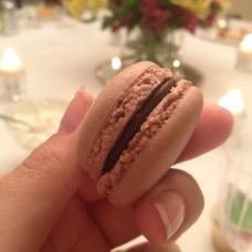 Chocolate Macaroon at Rosh Hashanah Dinner