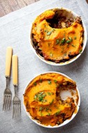 Moroccan Shepherd's Pie w/ Sweet Potato