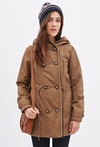 Double-Breasted Parka