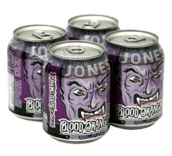 Jones Halloween Blood Orange Soda 4 pk
