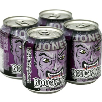 Jones Halloween Blood Orange Soda 4 pk