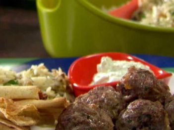 01. Greek Meatballs and Tzatziki