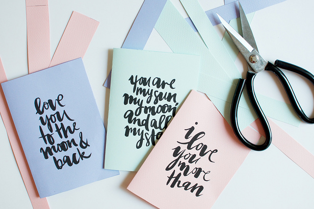 DIY Printable Valentine's Cards
