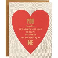 Heart A2 Foil Valentine Card