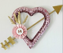 Cupids Arrow Wreath