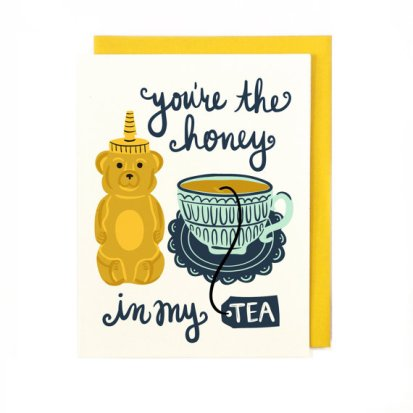 Honey Tea Card