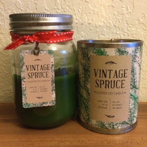 Vintage Spruce Scented Soy Candle