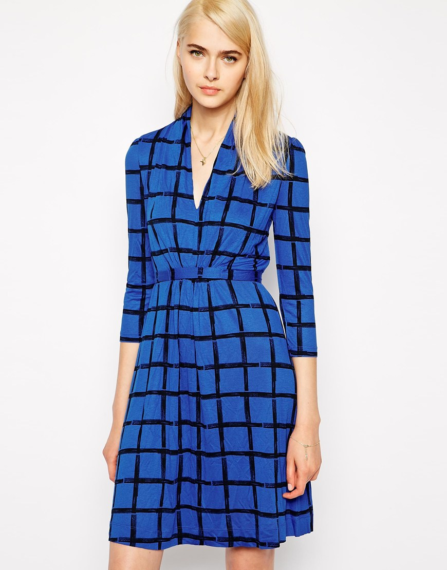 French Connection Long Sleeved Tea Dress