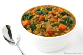 Lentil Spinach Soup