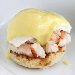 King Crab Eggs Benedict