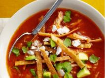 Spicy Tortilla Soup