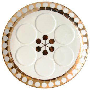 Futura Seder Plate