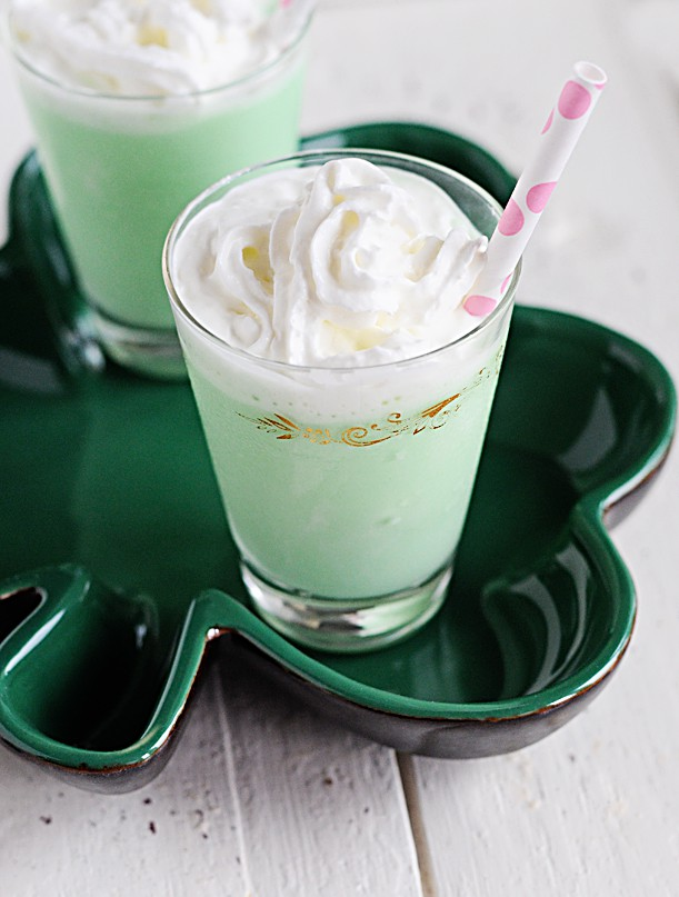 Grasshopper Ice Cream Cocktails
