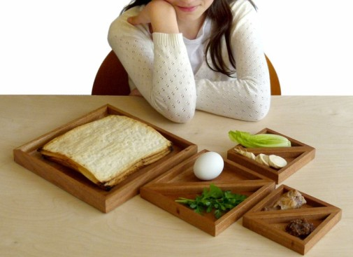 Tangram Passover Seder Plate