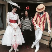 Fangirling w/ Mary Poppins & Bert