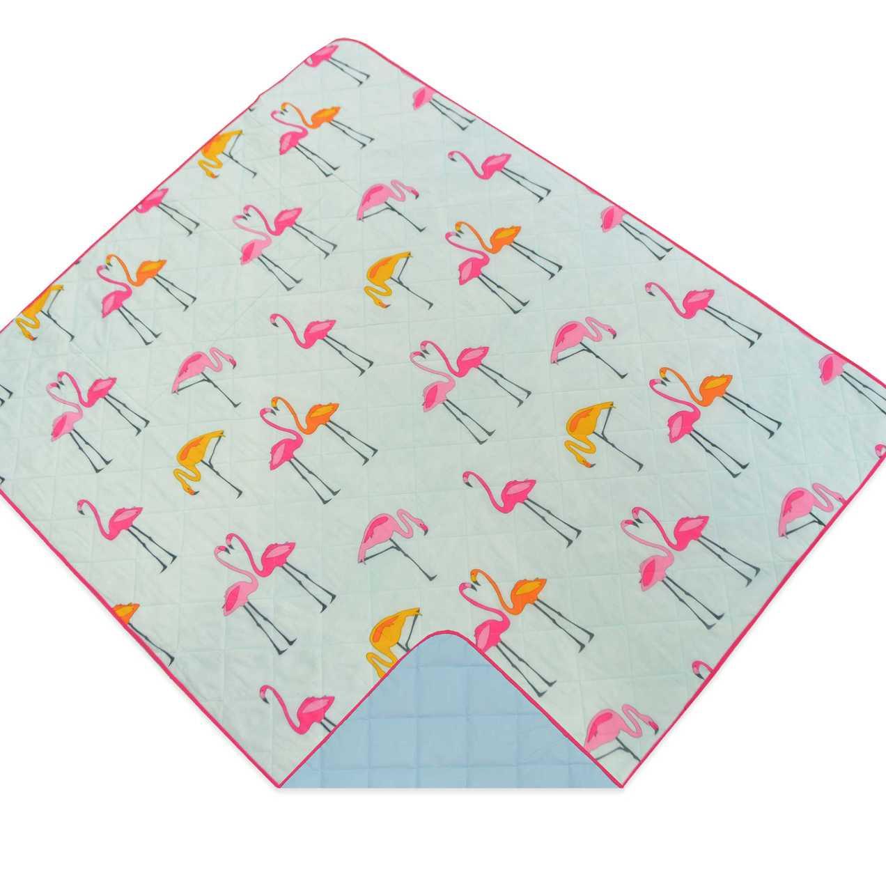 Flamingo Travel Throw