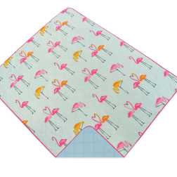 Flamingo Travel Throw