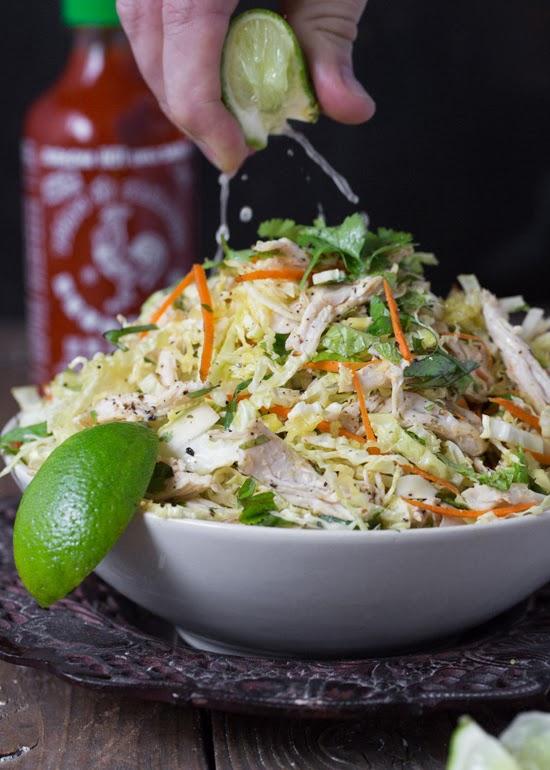 Vietnamese Chicken and Cabbage Salad