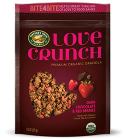 Love Crunch Dark Chocolate & Red Berries Granola