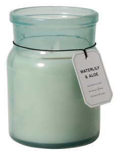 Waterlily & Aloe Soy Candle