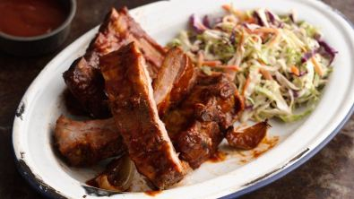 Slow-Cooker Barbecued Ribs