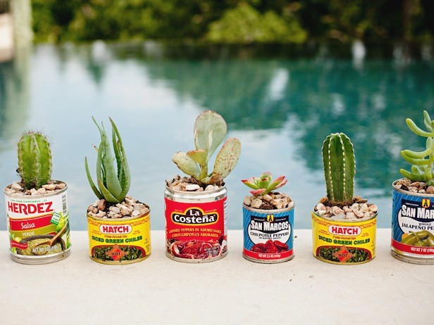 Mexican Can Planters