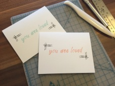 Finished Printable Mother's Day Cards