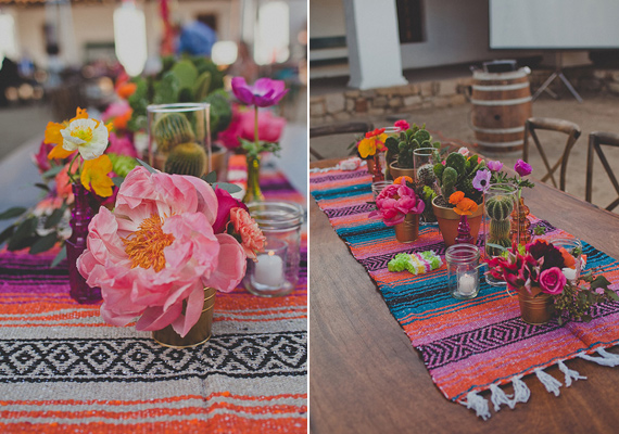 Mexican Themed Wedding Table