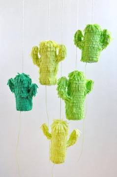 Mini Cactus Piñatas