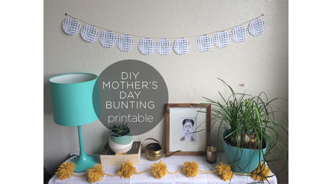 Mother's Day Bunting Featured Image