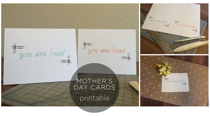 Printable Mother's Day Cards Featured Image